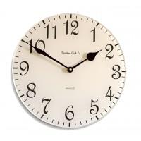 30cm Round Cream and Chocolate Wall Clock